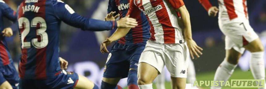 Levante vs Athletic de Bilbao de la pasada temporada de la Liga Santander