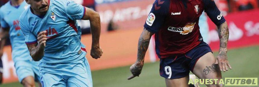Partido de Liga Santander entre Osasuna y Eibar