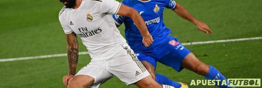 Real Madrid y Getafe en un partido anterior de la Liga Santander
