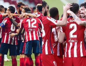 El Atlético, intratable y líder sólido