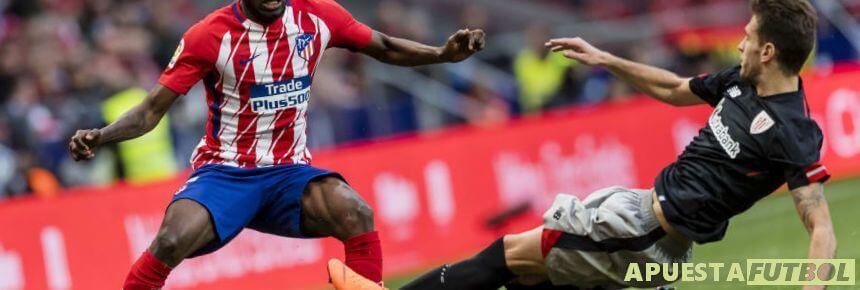 Partido de la temporada pasada entre Atlético de Madrid y Athletic de Bilbao en el Metropolitano
