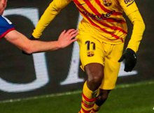 Barcelona y Huesca en Liga Santander 2019/20