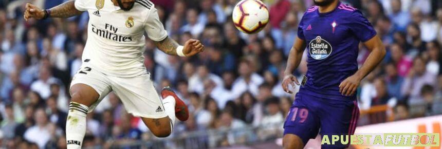 Partido de temporada anterior de Liga Santander entre Real Madrid y Celta en el Santiago Bernabeu