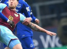 Everton vs Burnley de la Premier League