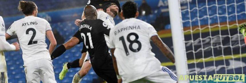 West Ham y Leeds United en un partido de Premier League