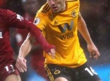 Wolverhampton y Liverpool en un partido anterior de Premier League