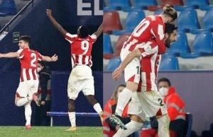 El Athletic eufórico tras su victoria en copa