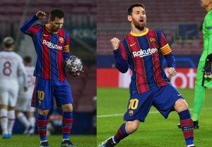 Las opciones del Barsa pasan por una buena noche de Messi