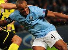 Partido entre Manchester City vs Borussia Dortmund de la fase de grupos de la Champions 2012