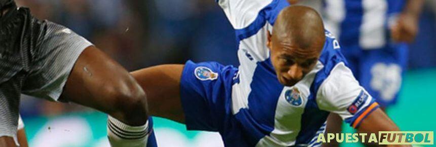 Imagen del partido de ida de la eliminatoria entre Oporto y Chelsea