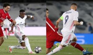 El Madrid defiende dos goles de ventaja