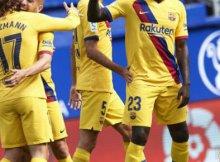 Eibar vs Barcelona en Liga Santander
