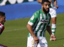 Elche y Real Betis en su partido de Liga esta temporada