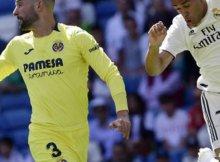 Partido de hace unas temopradas entre Real Madrid y Villarreal en Liga Santander