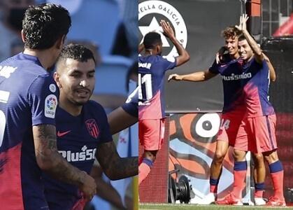 El Atleti arrancó fuerte la liga en Vigo