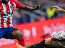 Atletico de Madrid y Athletic de Bilbao en un partido de Liga Santander