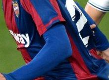 Levante y Celta en un partido anterior de Liga Santander