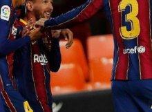 Barcelona y Valencia en Liga Santander